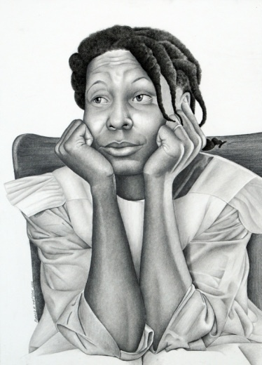 The Eyes of The Beholder reflects on what is beauty. Is it the kindness you show towards others, the warmness of your spirit, or does it just depends on who you ask? Inspired by the character Celie from the movie The Color Purple. By Ron Watson, my father.