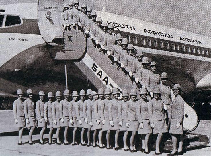 South African Airways Boeing 707 1971
