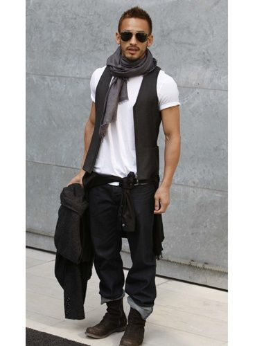hidetoshi Mens style fashion casual