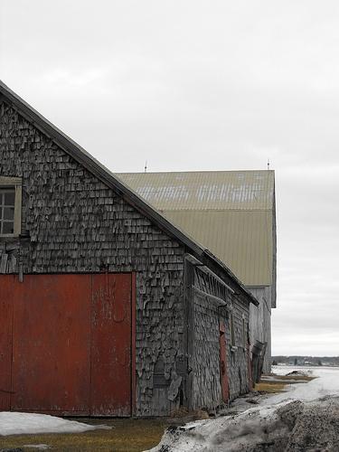 Old Barn in Beloeil, south shore