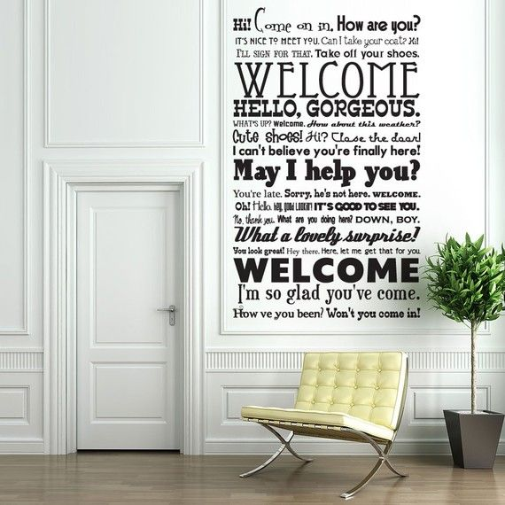 Best 25 Welcome Quotes For Guests Ideas On Pinterest
