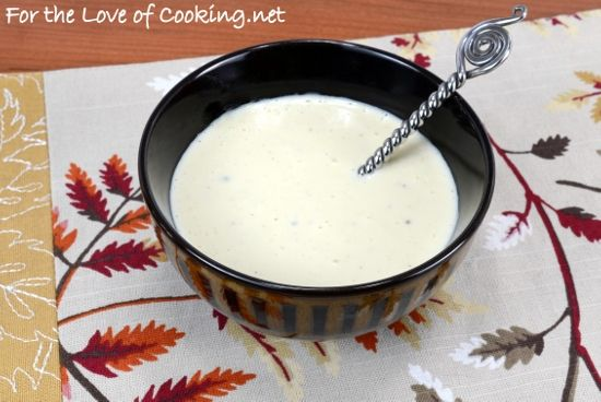 Creamy Caesar Dressing without the guilt!