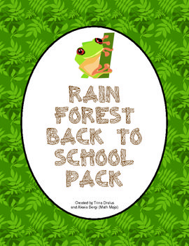 Your students will be WILD about learning this year with this back to school rainforest pack! There are prinatble rainforest room decorations, open house activities, parent communication, first week activities, and much, much more! $8.00Parents Communication, Open House, Classroom Theme, House Activities, Room Decorations, Rainforests Classroom, Classroom Pack, Rainforests Room, Rainforests Pack