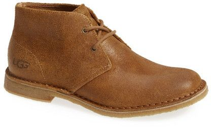UGG Australia Leighton Genuine Shearling Lined Chukka Boot - Wide Width Available