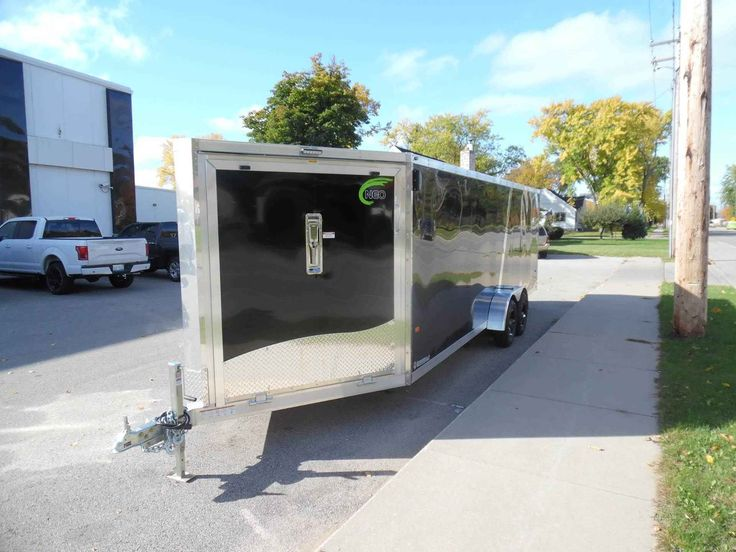 Unique  Trailer Conversion Enclosed Utility Trailers And Diy Camper Trailer