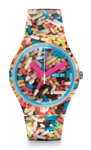 Swatch® US - SPRINKLED  watch.  Now this really is Michaela