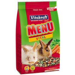 Корм для кроликов Витакрафт Меню Витал основной, пак. 1 кг