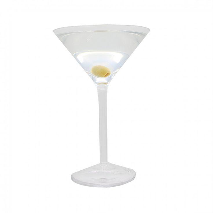 Ensemble de 4 coupes  à martini