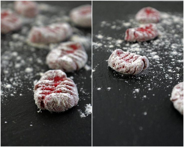 Rote Bete Gnocchi mit Zitronen-Basilikum-Pesto