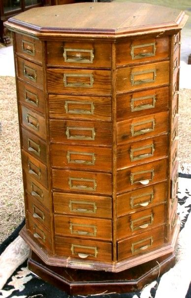 Hardware Store Nut and Bolt Cabinet, BRASS LANTERN ANTIQUES  ohhhh so want one of these