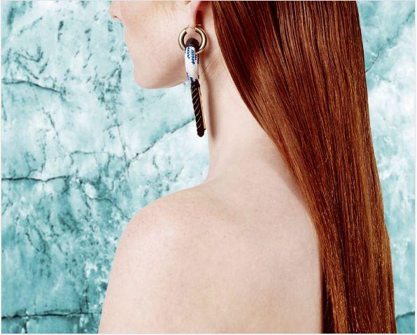 Motif Earrings  Buy Online: www.pichulik.com/shop