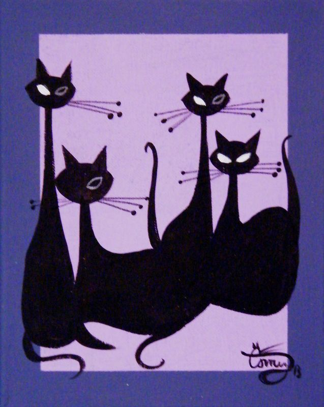 I want it! Available Works - El Gato Gomez Art