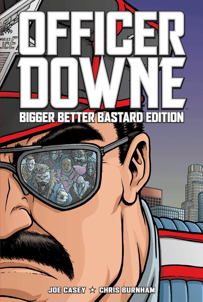 Officer Downe   Series   Image Comics