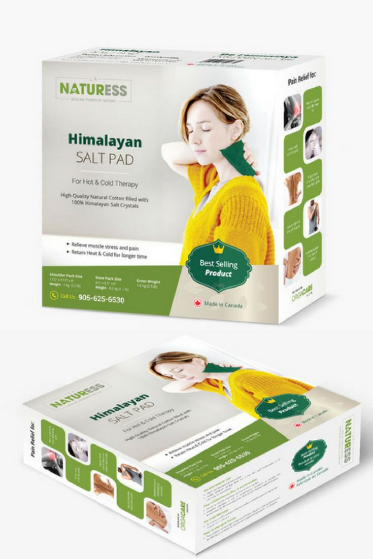 The Microwavable Himalayan Salt Heating Pad