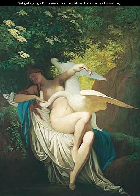 Leda and the Swan - Bertalan Székely