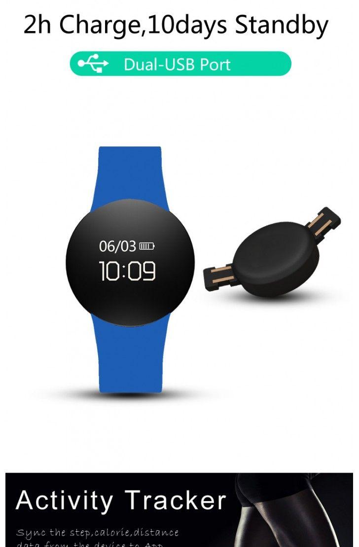 Wd3 Smart Watch Ip67 Waterproof Fitness Tracker Heart Rate Monitor Sports Watch