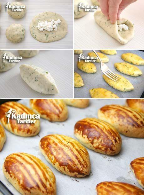Dereotlu Pastane Poğaçası Tarifi