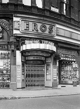Eros News Theatre,  Piccadilly Circus, Marylebone St Johns Wood And Mayfair, Greater London
