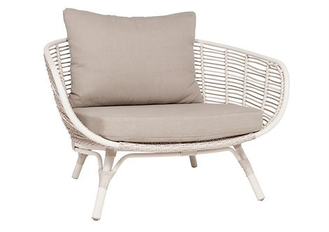 Cocoon Lazy Chair Moonbeam/Wheat Texture