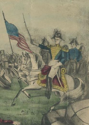 General Andrew Jackson, Battle of New Orleans