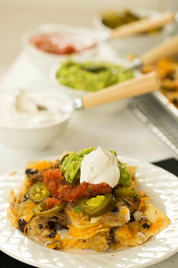 Ultimate Nachos with Beer-Braised Carnitas by @Michelle (Brown Eyed ...