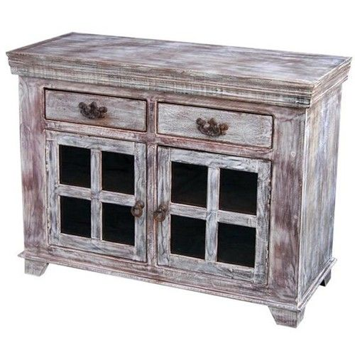 Overstock Furniture Distressed Wood Buffet And Cabinets