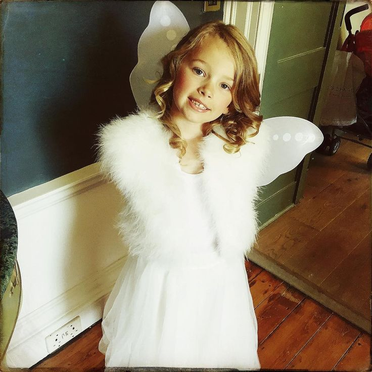 Check out this angel rocking our marabou shrug and ballet skirt! - heavenly! Thank-you to our Instagram fan for this pic #myangelsface