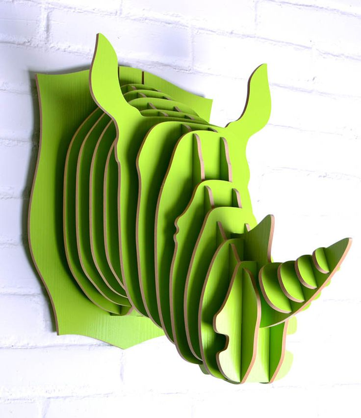 Rhino head for wall art,novelty items of wood,crafts wood decoration,head animal,crafts home,mdf decor living room,rhino items-in Crafts fro...