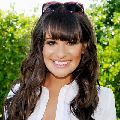 Heavy bangs don't always have to be paired with ultra-sleek strands. Take a look at #LeaMichele, who wore soft waves to a #Lacoste event. http://celebrityphotos.instyle.com/dailybeautytip/photos/results.html?No=2=1