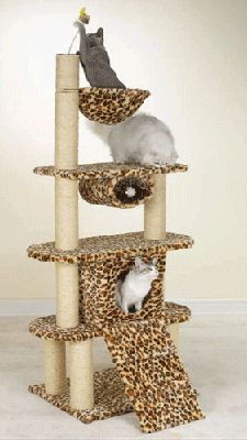 how to build a cat tower