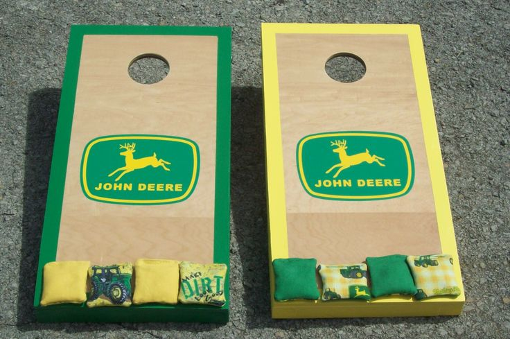 Kids Custom Cornhole Boards...