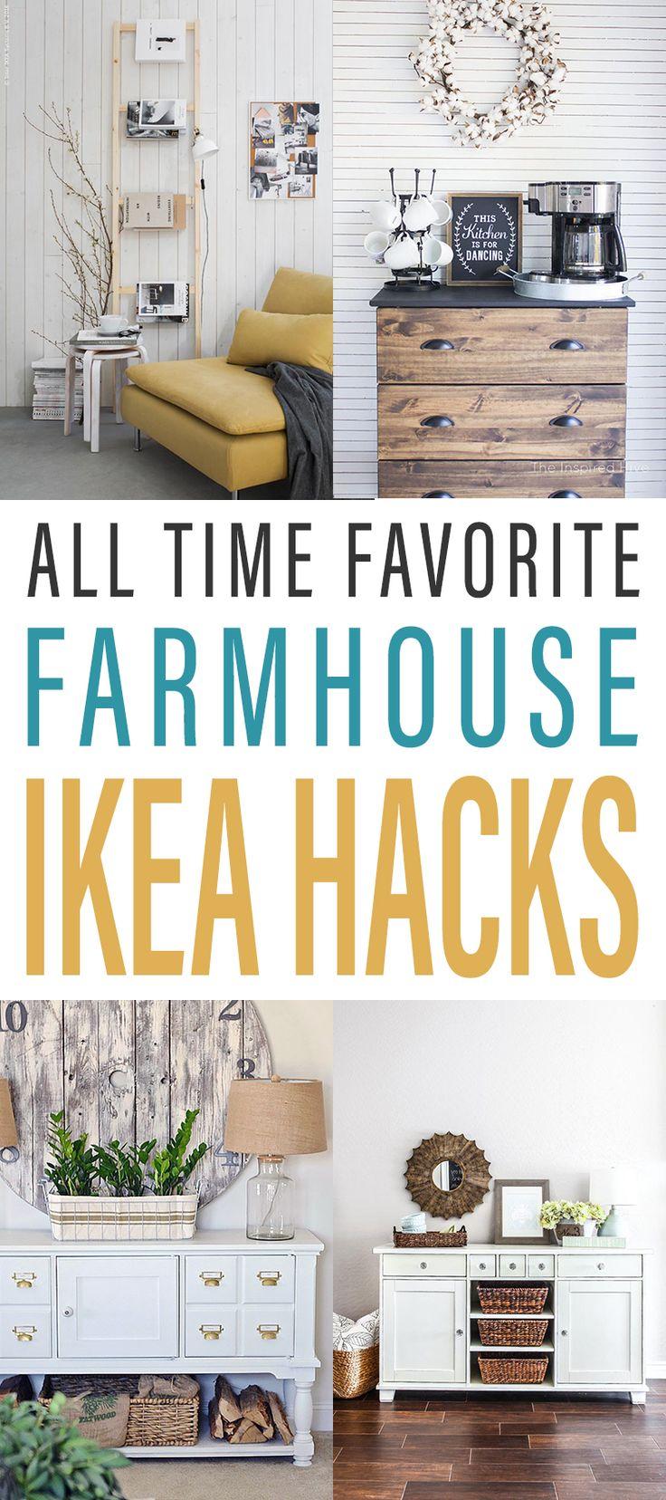 All Time Favorite Farmhouse IKEA Hacks