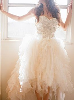 Ivy lisianthus fluffy wedding dress sparkle top for Fluffy skirt under wedding dress