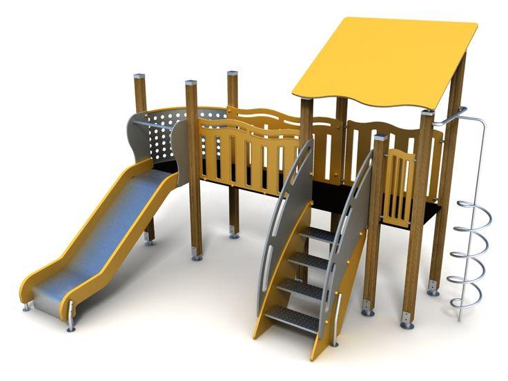 VG5308A - Tek Kuleli Ahşap Oyun Grubu | Ahşap Çocuk Oyun Parkları | Ahşap Oyun Grupları | Çocuk Oyun Parkları | Doapark
