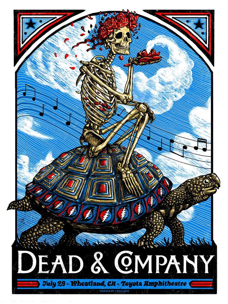 Zeb Love Dead And Company Wheatland Poster Release