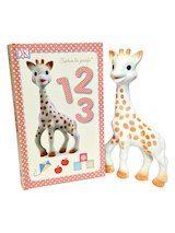 Sophie La Girafe Teether & 1,2,3 Book Set