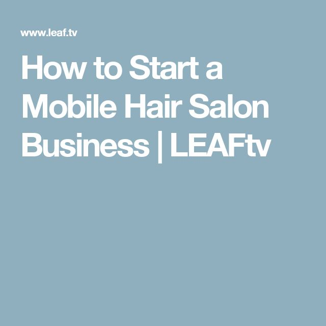Mobile stylist business plan