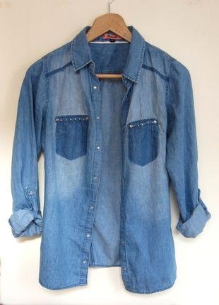 Kup mój przedmiot na #vintedpl http://www.vinted.pl/damska-odziez/koszule/10554863-koszula-dzinsowa-niebieska