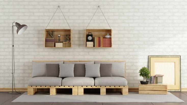 DIY Project Ideas with Storage Crates #diy #creative #home #design