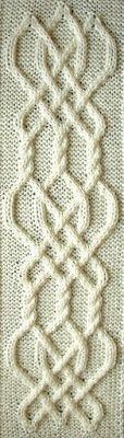Ivanova and Carter Knit: Celtic Knot Project