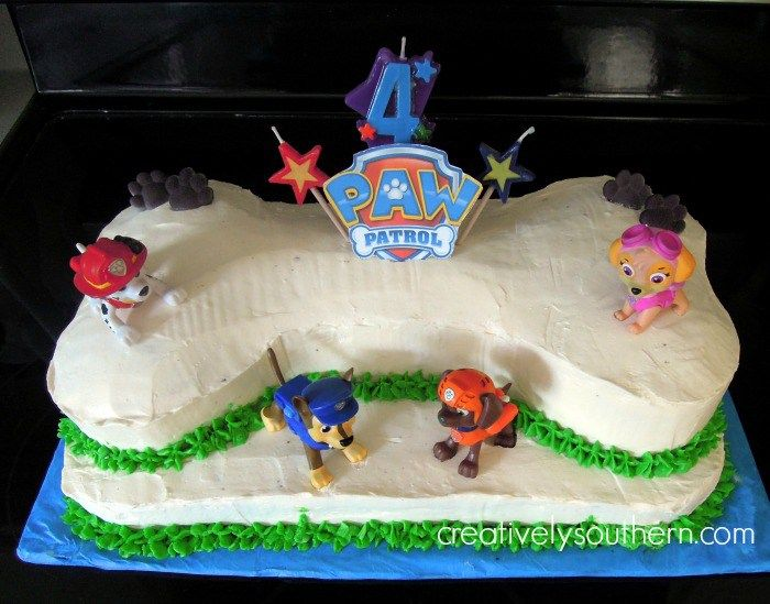 Images Of Paw Patrol Cakes With Lani