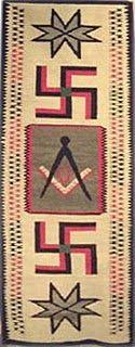 Tapete Navajo de 1925
