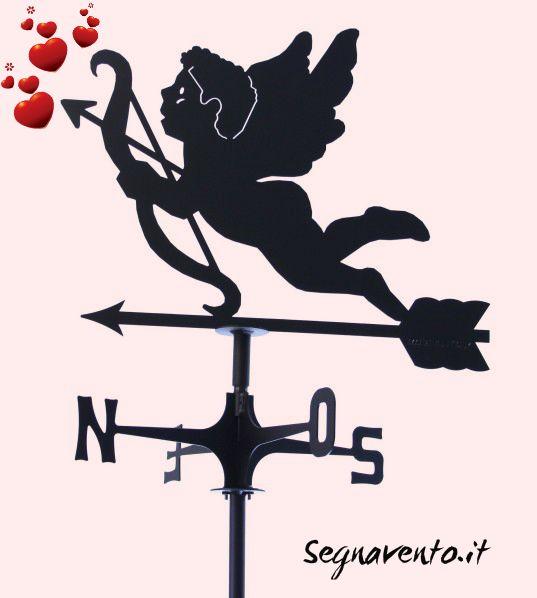 #Segnavento: adatto a chi è innamorato! #Banderuola #Cupido http://www.segnavento.it/segnavento-sv22-cupido.html