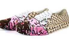 Tempting Dessert Sneakers #Christmas #IceCream #Sneakers