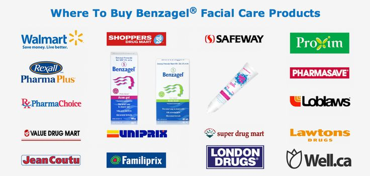 We work with great retail partners all over Canada to make sure you are never far from your favourite Benzagel products! http://www.benzagel.ca/benzagel/where-to-buy.html