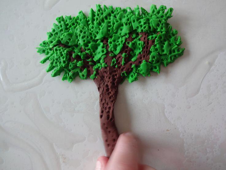 Alice's plasticine tree