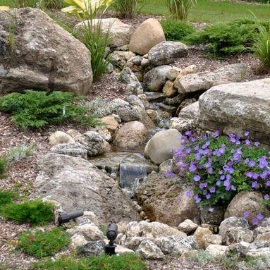 Dry Creek Bed Japanese Garden Bridge Design Ideas
