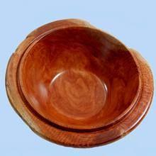 Australian made Red Gum Burl Bowl.