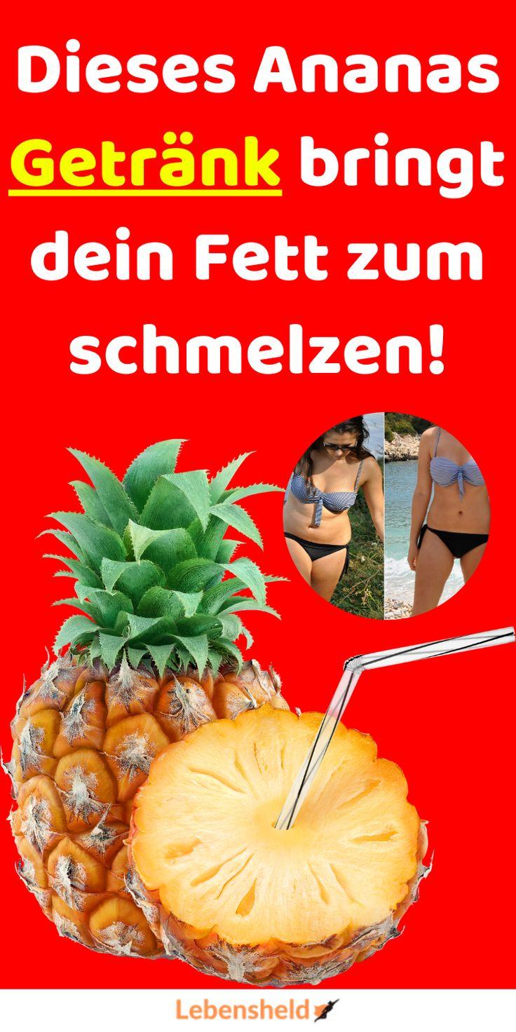 Ananasgetränk zur Gewichtsreduktion