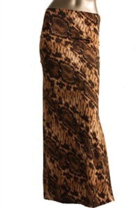 """Queen Of The Jungle"" Maxi Skirt"
